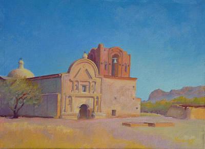 Tumacacori Mission Art Print by John Marbury