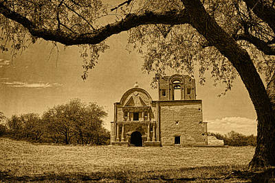 Photograph - Tumacacori Mission Tint by Theo O'Connor