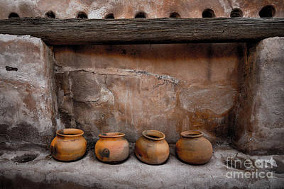 Photograph - Tumacacori National Historical Park - Pottery - Arizona by Gary Whitton