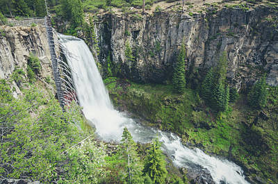 Photograph - Tumalo Falls by Margaret Pitcher