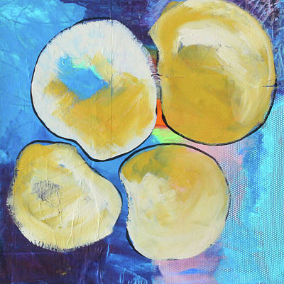 Painting - Tumble--abstract Painting Collage by Nancy Merkle