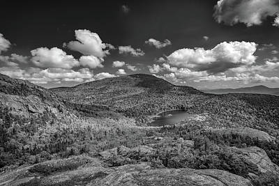 Photograph - Tumbledown Pond In Black And White by Rick Berk
