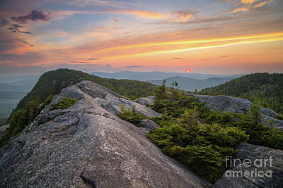 Photograph - Tumbledown Summit View by Benjamin Williamson
