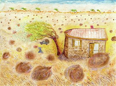 Painting - tumbleweed Dream by Jim Taylor