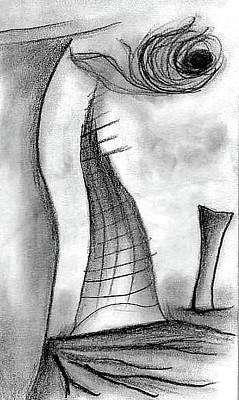 Drawing - Tumbleweed Sun by Matt Harang