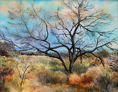 Painting - Tumbleweeds by M Diane Bonaparte