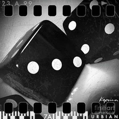 Photograph - Tumblin' Dice by Greg Kopriva
