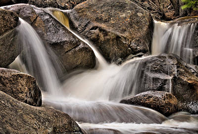 Photograph - Tumbling River Redux by Kevin Munro