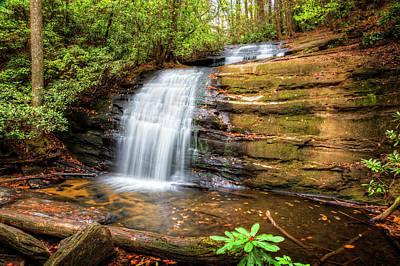 Photograph - Tumbling Silky Water by Debra and Dave Vanderlaan
