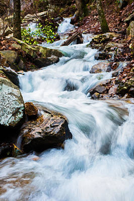 Photograph - Tumbling Water by Parker Cunningham