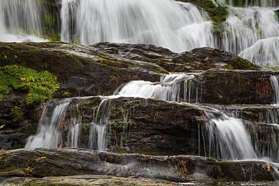 Photograph - Tumbling Waterfalls by Debra and Dave Vanderlaan
