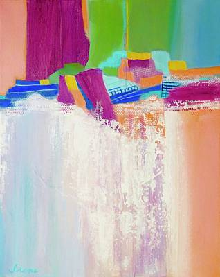 Painting - Tumbling Waters by Irene Hurdle