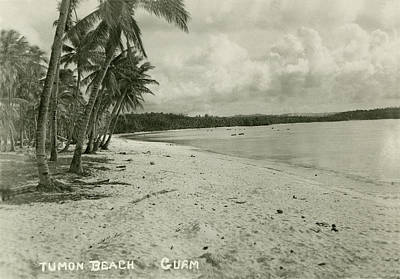 Tumon Beach Guam Art Print