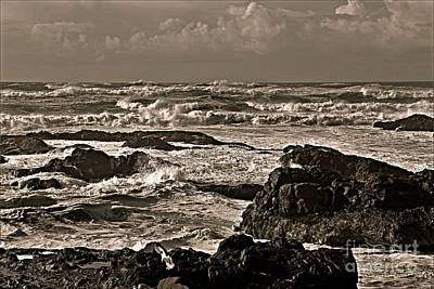 Photograph - Tumultuous Expanse by Sheila Ping