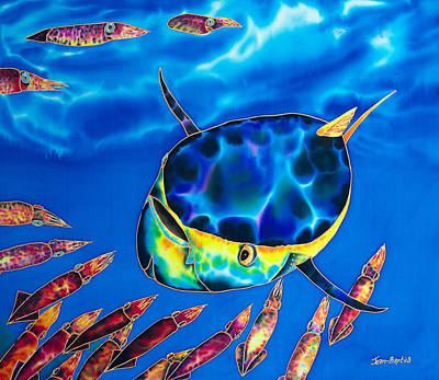Tuna  And Squid Art Print