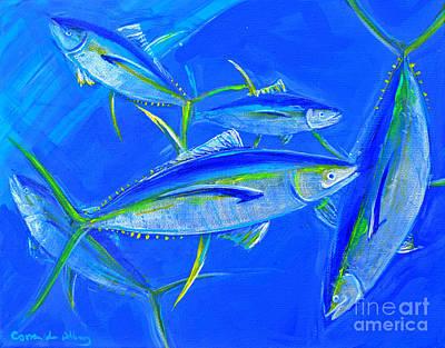 Tuna School V Original by Paola Correa de Albury