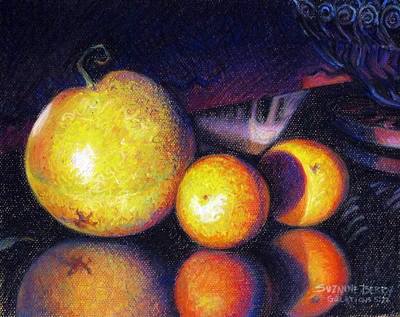 Pastel - Tuna's Fruit by Suzanne Berry