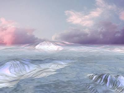 Digital Art - Tundra by John Pangia