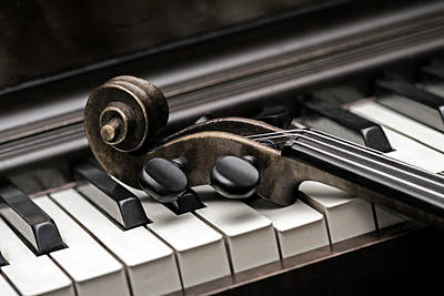Piano Photograph - Tuned by Jayne Gohr