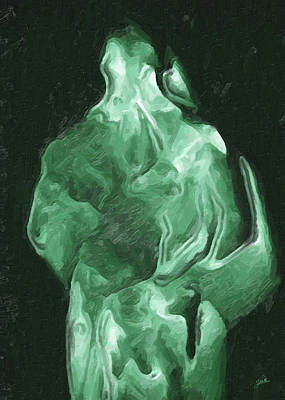Giuseppe Cristiano Royalty Free Images - Tunic green plastic Royalty-Free Image by Joaquin Abella