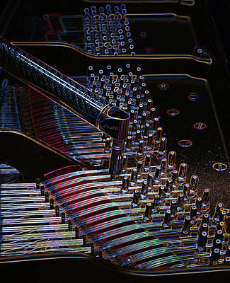 Tuning A Steinway For Jazz Art Print