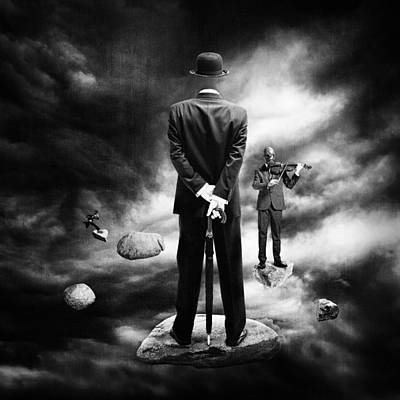 Surreal Art Photograph - Tuning In by Erik Brede