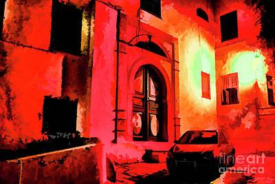 Photograph - Tunis At Night by Rick Bragan
