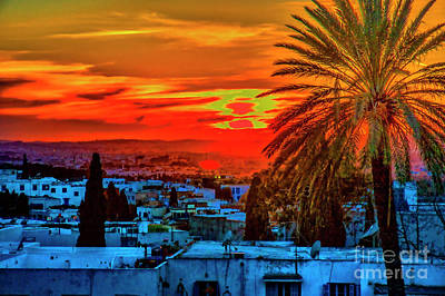 Photograph - Tunis Sunset by Rick Bragan