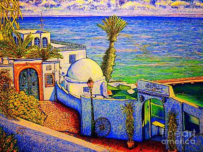 Painting - Tunisia by Viktor Lazarev