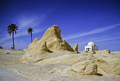 Photograph - Tunisian Desertscape by Michele Burgess