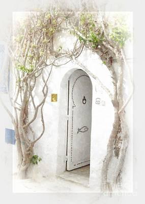Tunisian Doorway Original