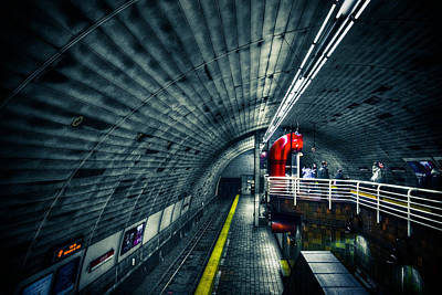 Photograph - Tunnel by Andrew Kubica