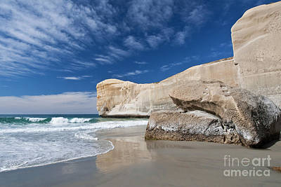 Photograph - Tunnel Beach 1 by Werner Padarin