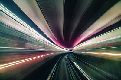 Photograph - Tunnel by Chris M