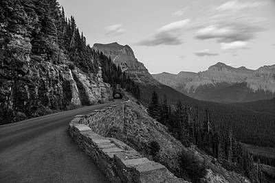 Photograph - Tunnel Goin To The Sun Road by John McGraw