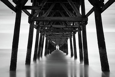 Beach Photograph - Tunnel by Ivo Kerssemakers