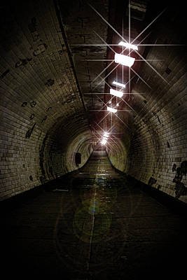 Tunnel Light Art Print