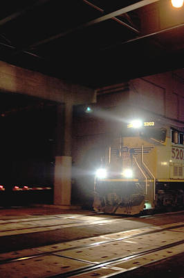 Photograph - Tunnel Light by Sara Stevenson