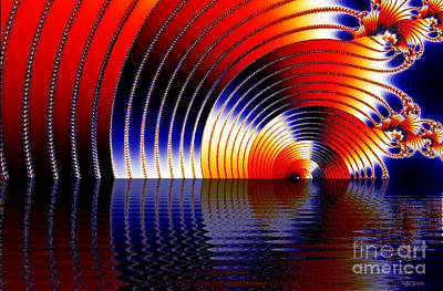 Digital Art - Tunnel Of Love by Clayton Bruster