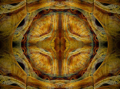Separation Digital Art - Tunnel Of Separation by Amorina Ashton