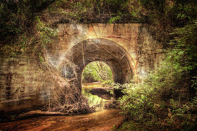 Photograph - Tunnel Of The Walking Dead by Mark Andrew Thomas