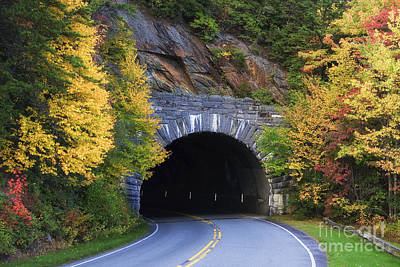 Photograph - Tunnel On The Blue Ridge Parkway by Jill Lang