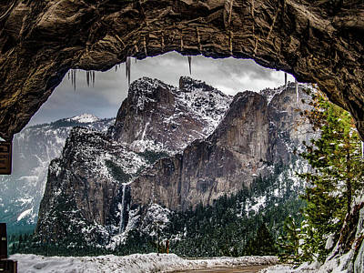 Art Print featuring the photograph Tunnel View From The Tunnel by Bill Gallagher