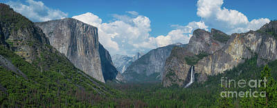 Photograph - Tunnel View In Yosemite  by Michael Ver Sprill