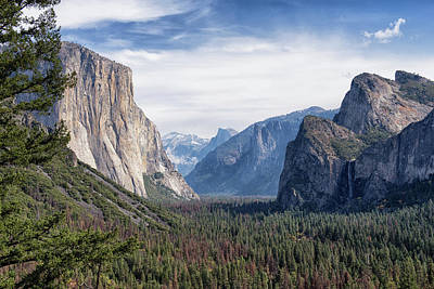 Modern Man Surf - Tunnel View of the Valley - Yosemite National Park - California by Bruce Friedman