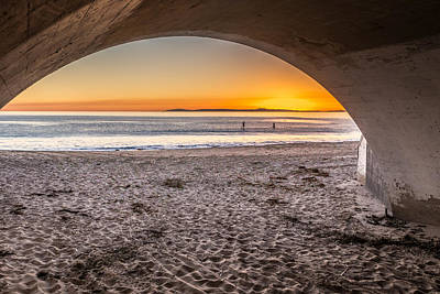 Crystal Cove Photograph - Tunnel View by Peter Tellone