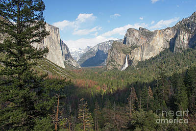 Photograph - Tunnel View Shadow by Cheryl Del Toro