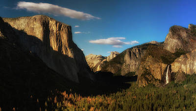 Photograph - Tunnel View by Walt Sterneman