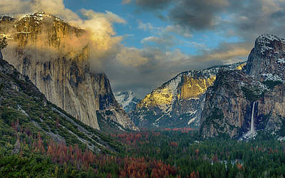 Photograph - Tunnel View Yosemite #1 by Jack Peterson
