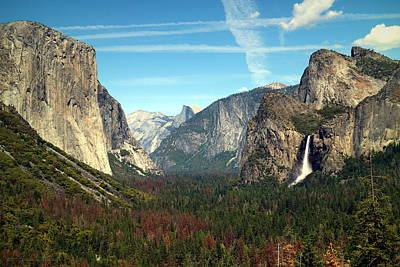 Photograph - Tunnel View Yosemite by Joyce Dickens